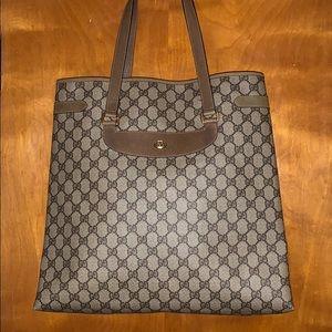 Gucci Supreme vintage shopper/tote